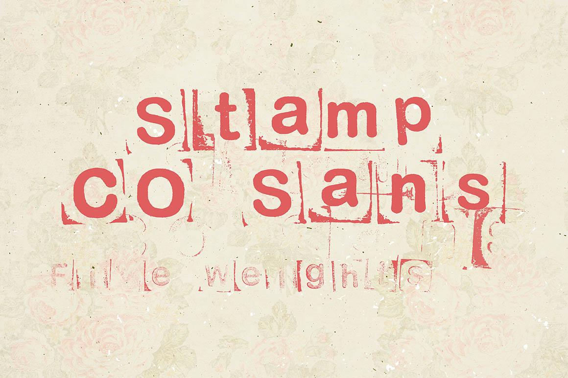StampCOSansFont1