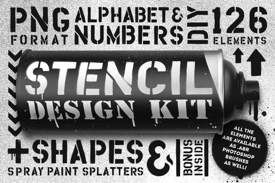 Stencil design kit 1