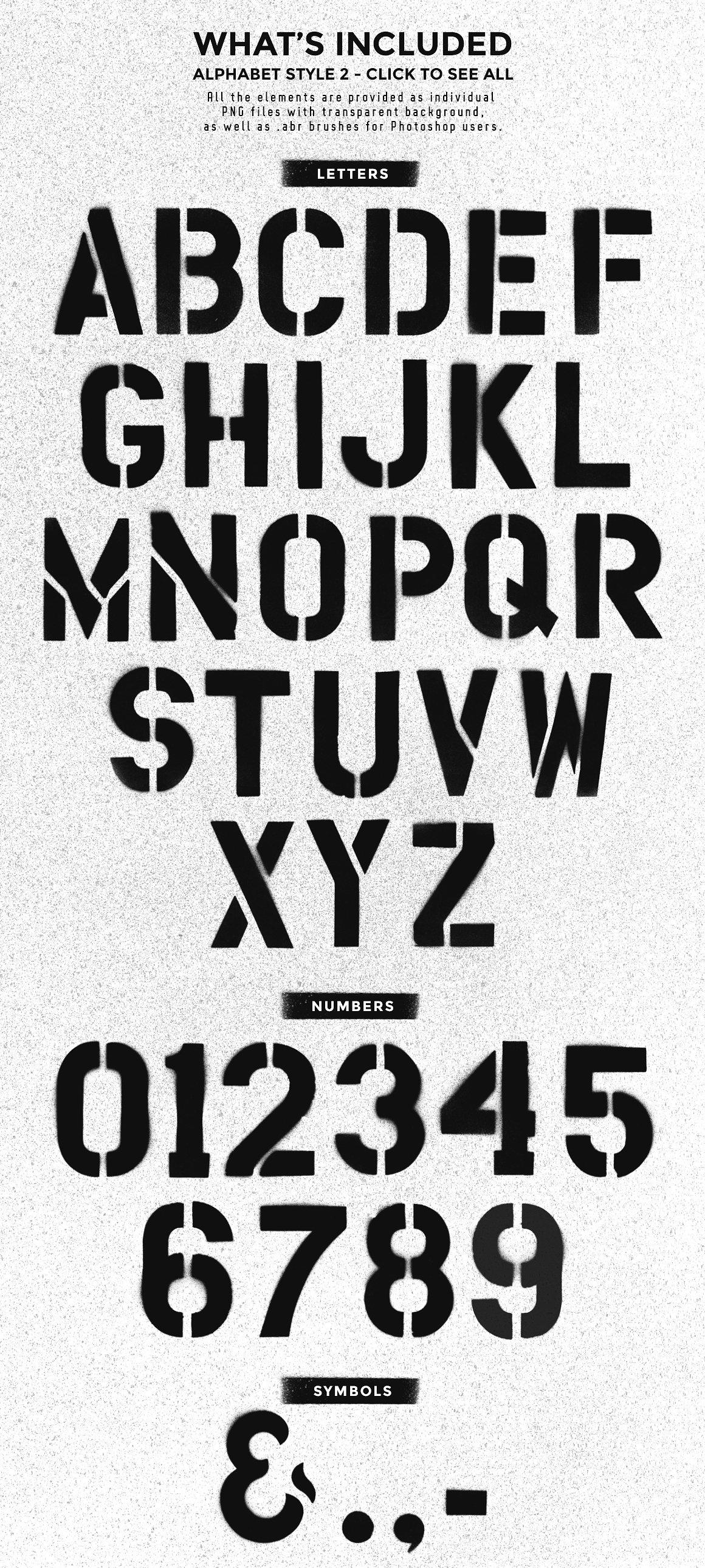 Stencil design kit 13