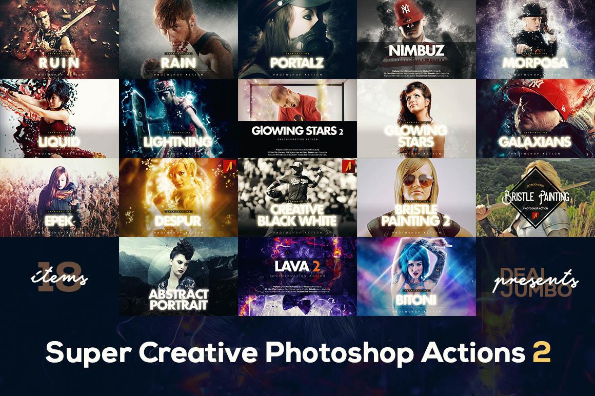 SuperCreativePhotoshopActions2