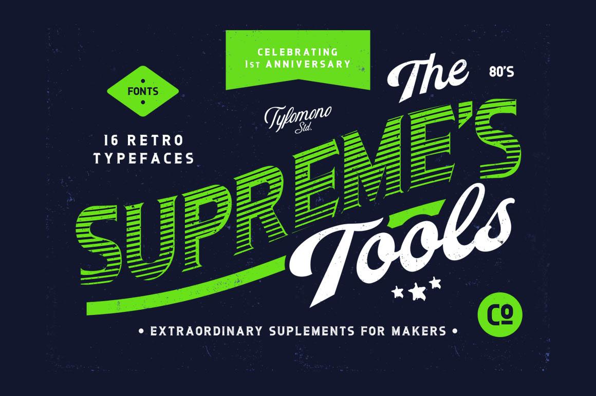 SupremeTools16RetroFonts1