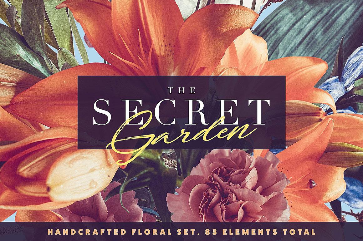 The Secret Garden – Floral Pack - $9