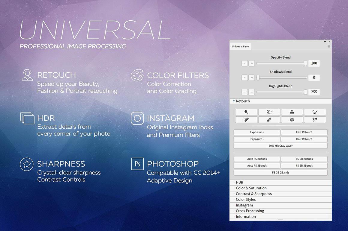 Universal Photoshop Panel 2