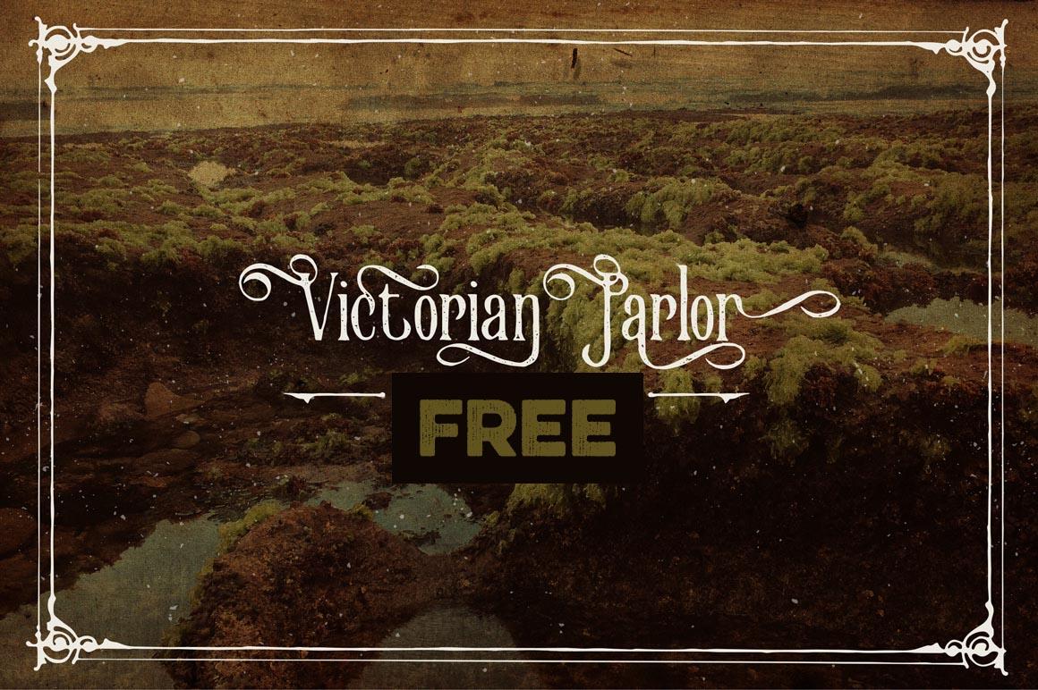 Victorian Parlor Vintage Alternate_free