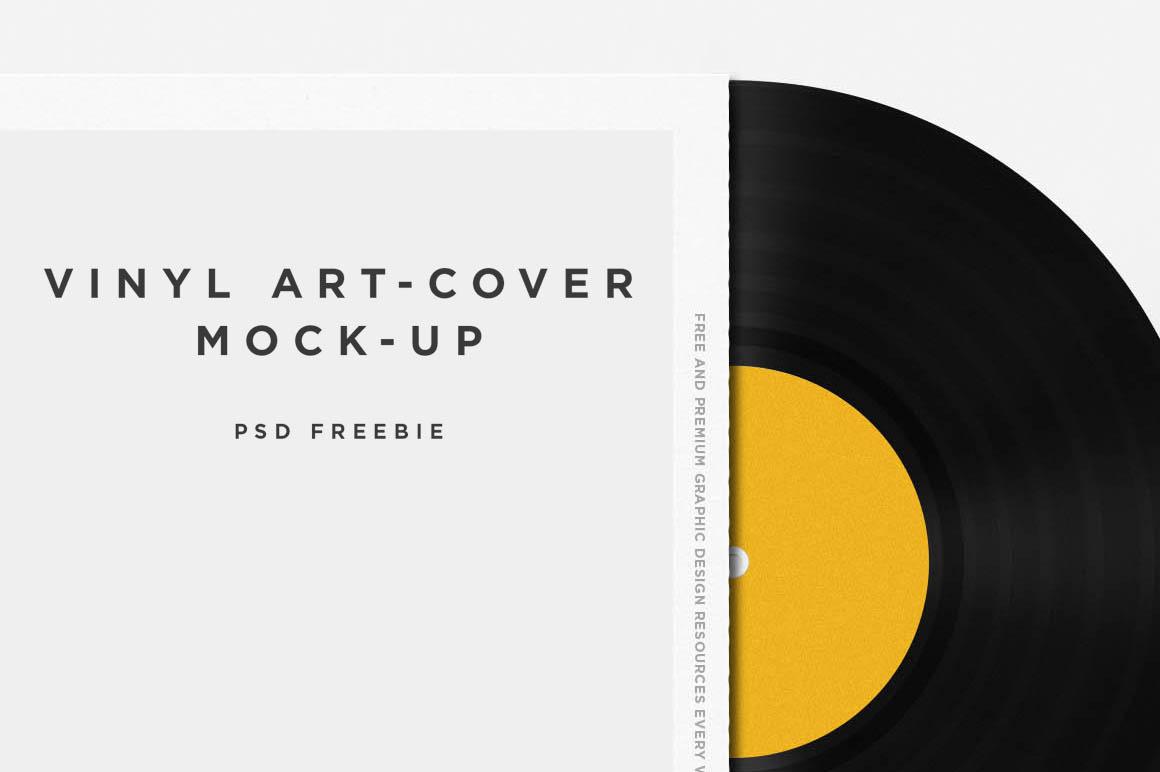 Vinyl Disc Mockup1