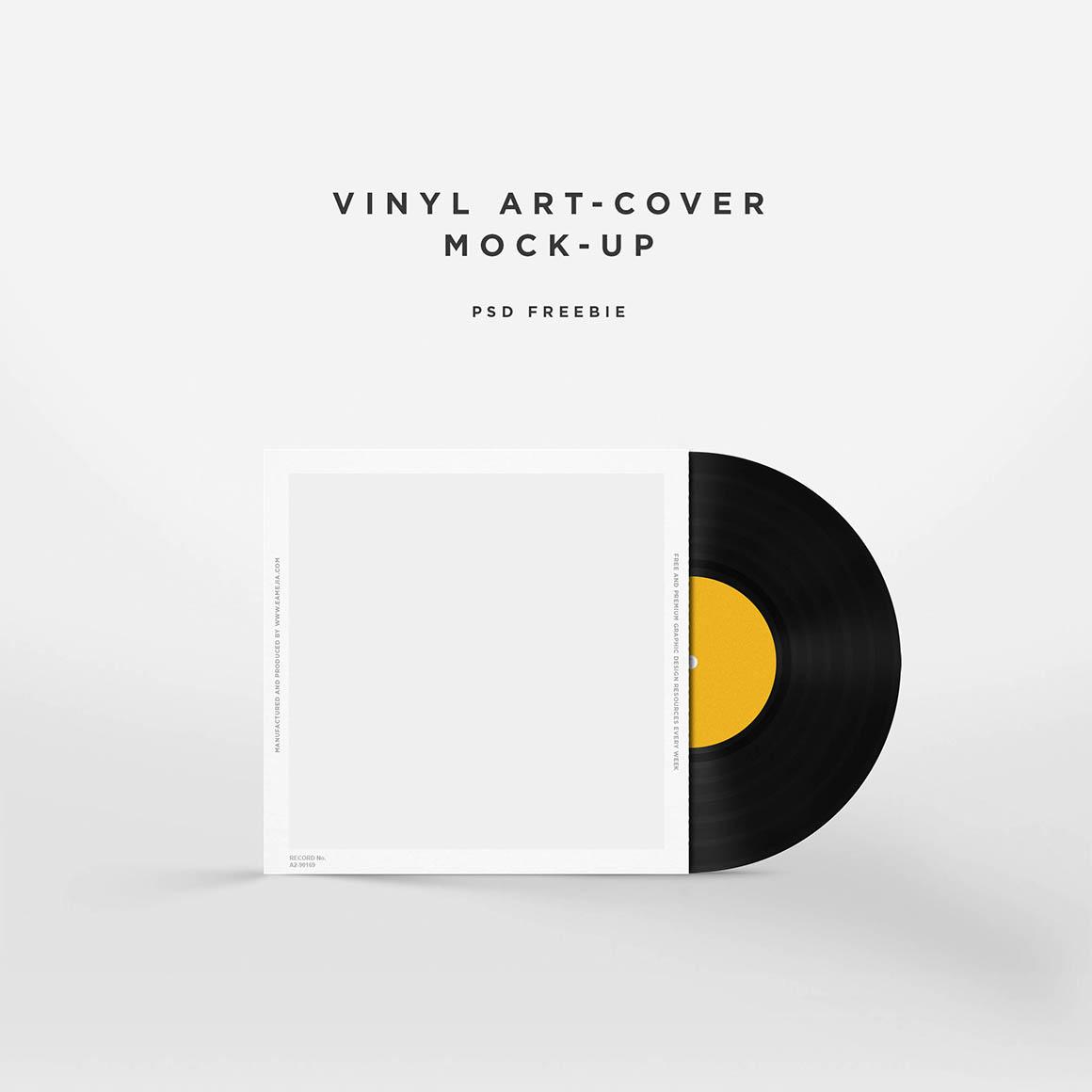 Vinyl Disc Mockup2