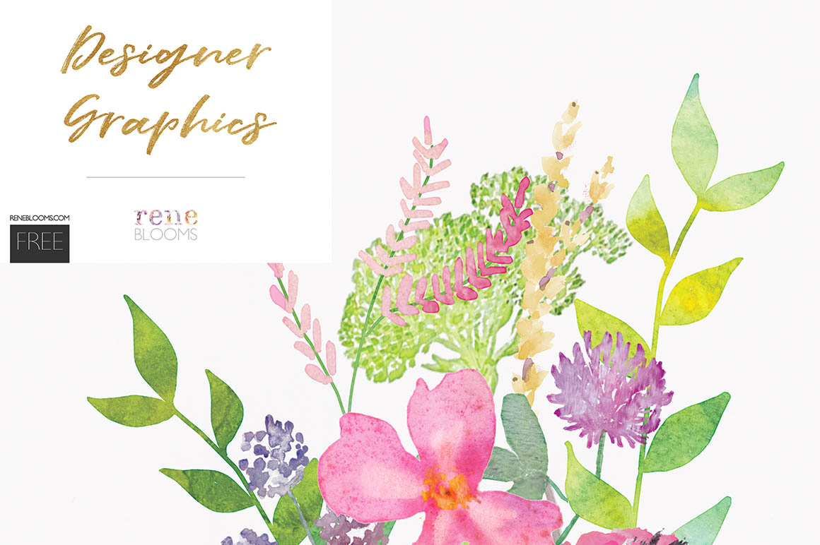 Watercolor Florals Again_by Rene Blooms (1)
