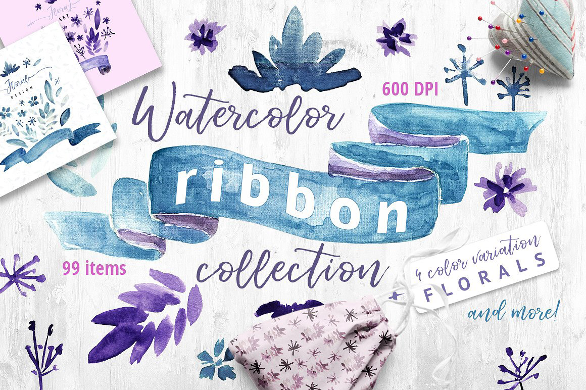 Watercolor-Ribbon-Collection1