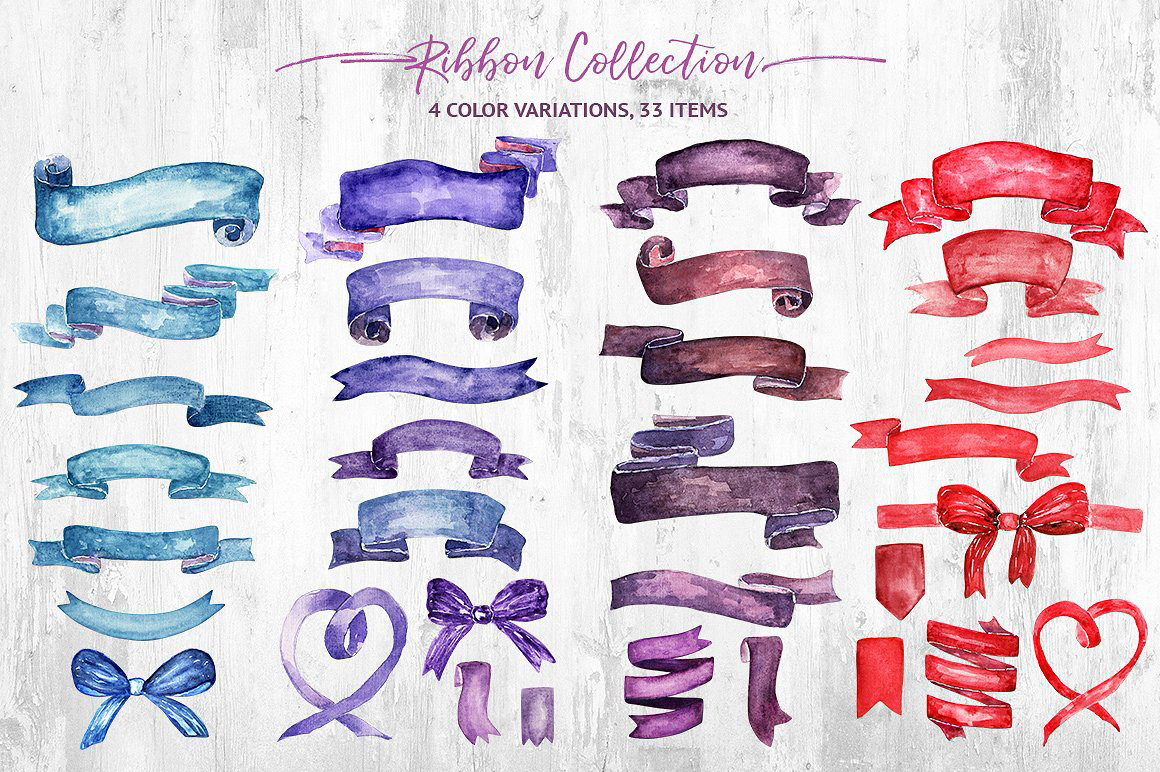 Watercolor-Ribbon-Collection2