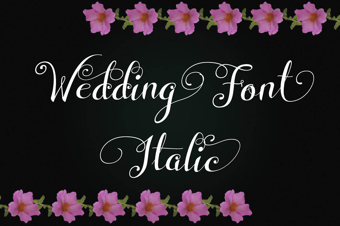 WeddingItalic1