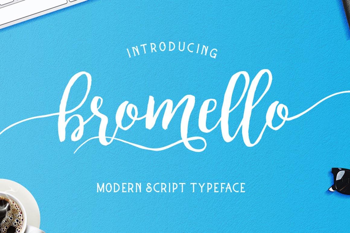 Bromello - Free Script Font - Dealjumbo.com — Discounted ... | 1160 x 772 jpeg 169kB