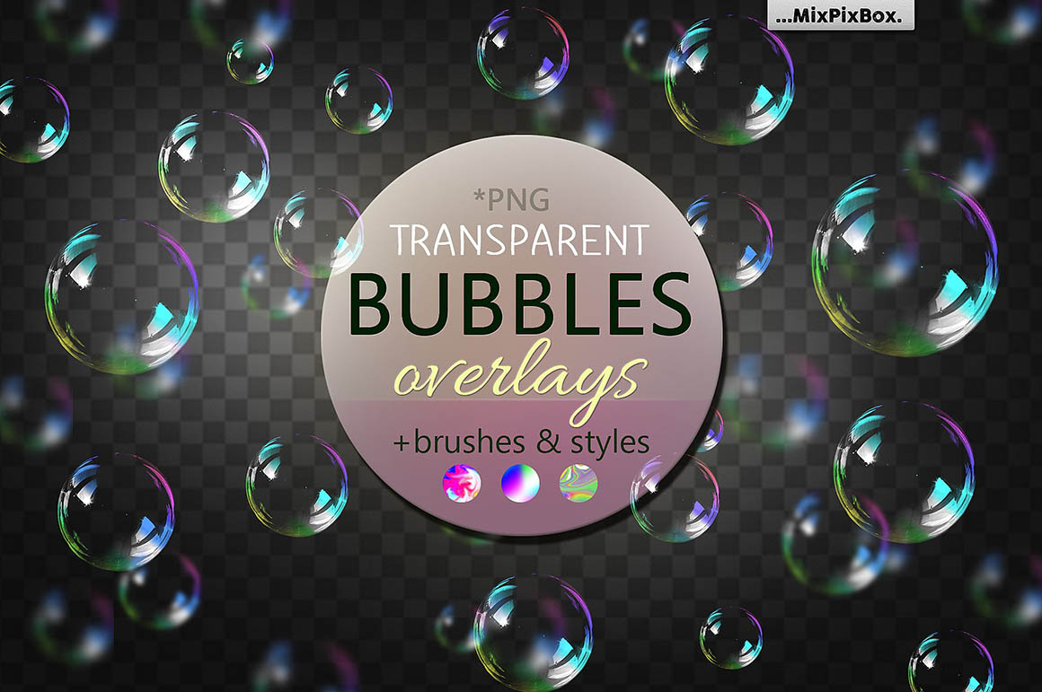 bubbles overlays brushes1