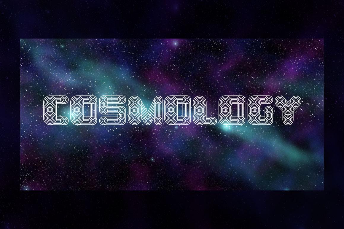 cosmology-free-font-1