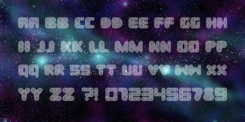 cosmology-free-font-2