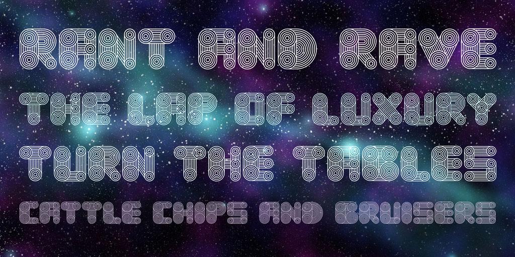 cosmology-free-font-3