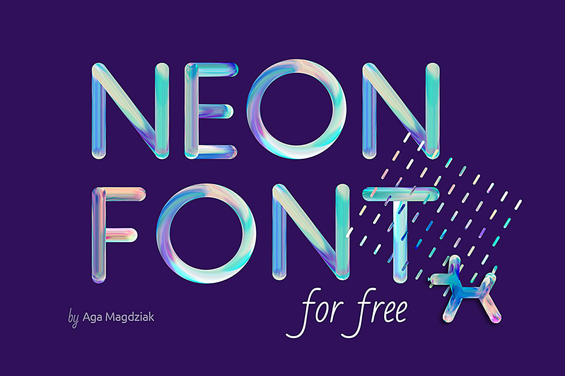 freeneonfont1