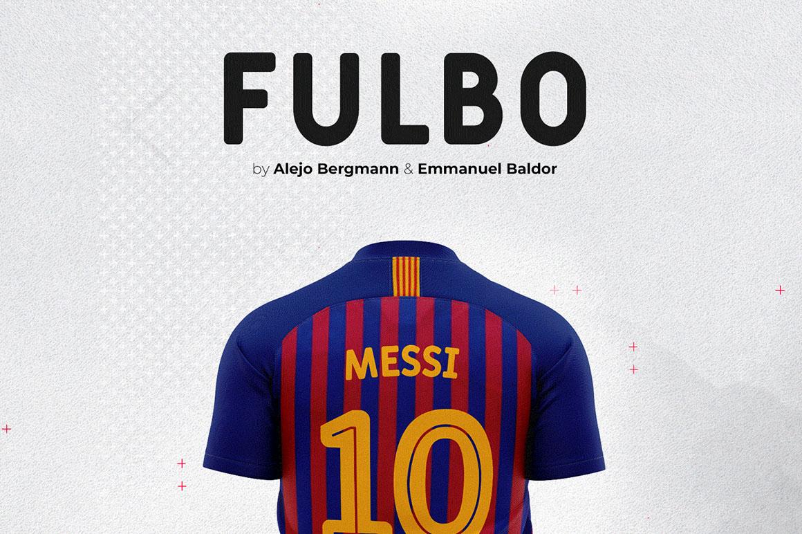 Fulbo - Free Font - Dealjumbo com — Discounted design