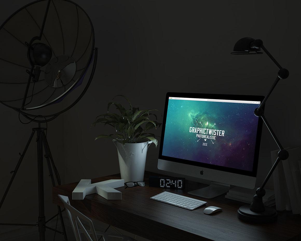 iMac-mockup-night
