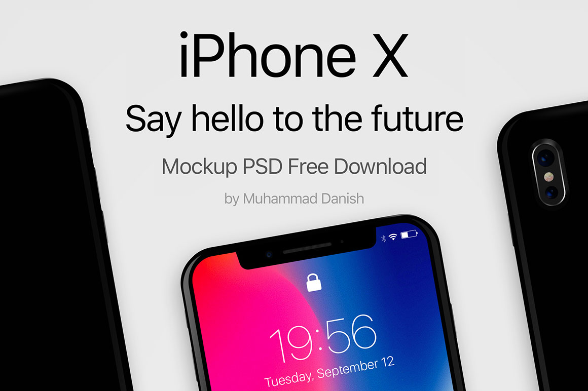 iPhone-X-Black-Free-PSD-Mockup-1