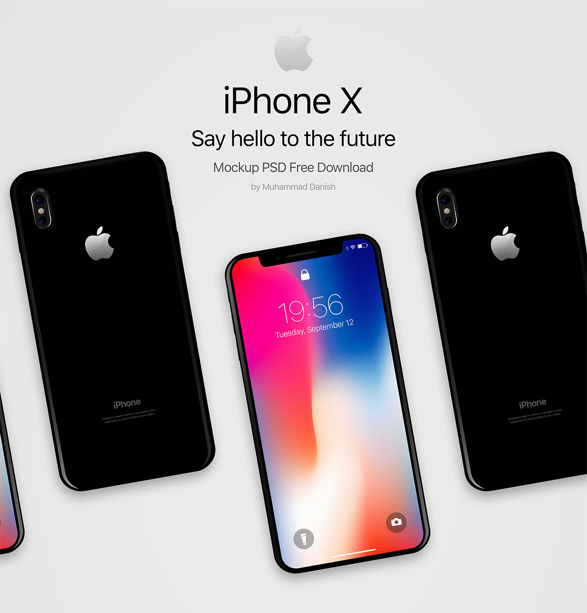 iPhone-X-Black-Free-PSD-Mockup-2