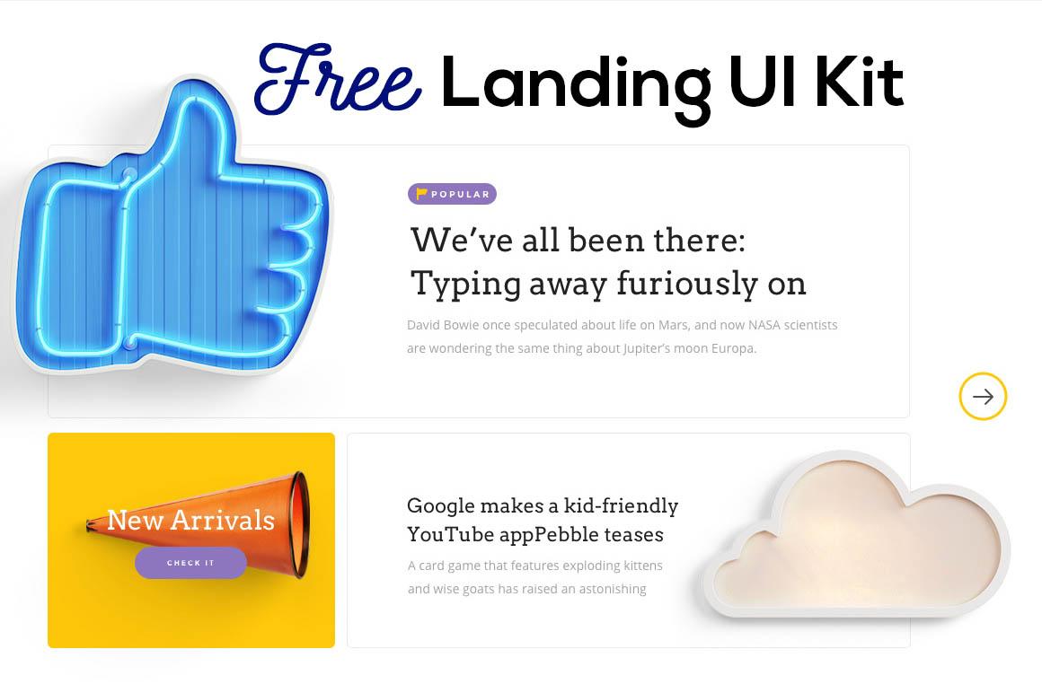 landingfreeUIkit1