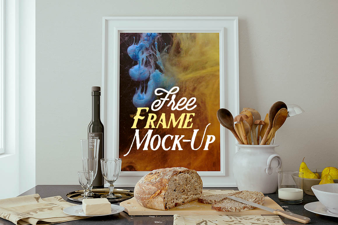 Fabulous Free Frame Mock-up - Kitchen - Dealjumbo.com — Discounted design  IY59