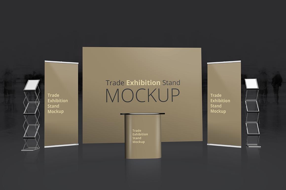 Modular Exhibition Stand Mockup : Trade exhibition stand mockup dealjumbo — discounted