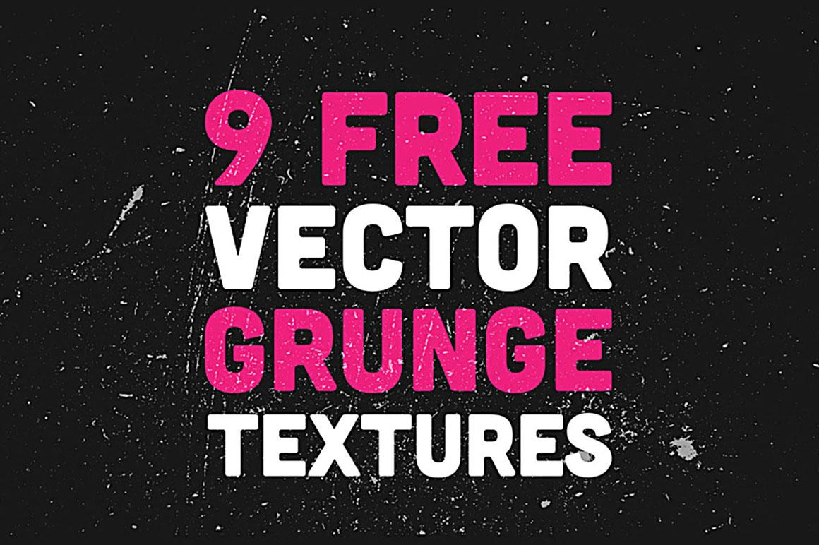 9 Free Vector Grunge Textures - Dealjumbo com — Discounted