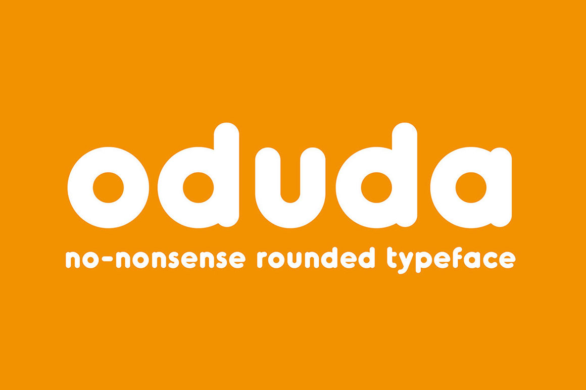 Font Style Cool >> Dealjumbo.com — Discounted design bundles with extended license! | Oduda – Free Rounded Font
