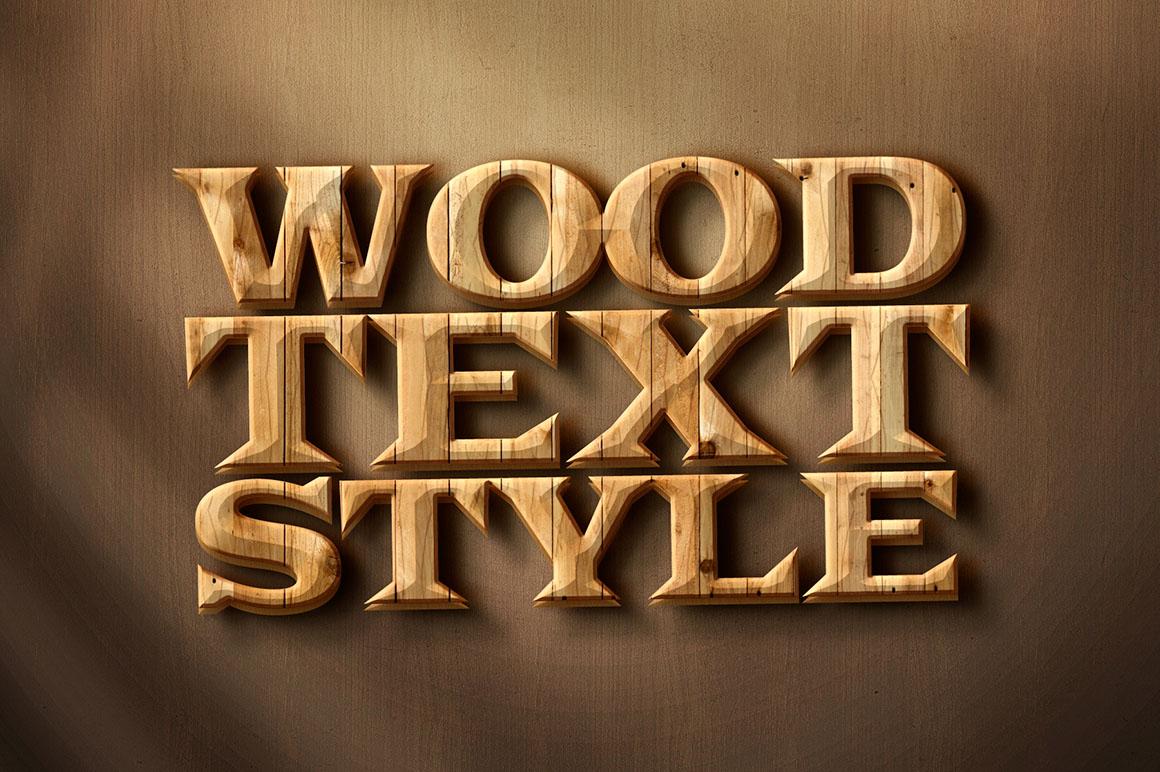 Download Wood Free Text Style Vectorsindia