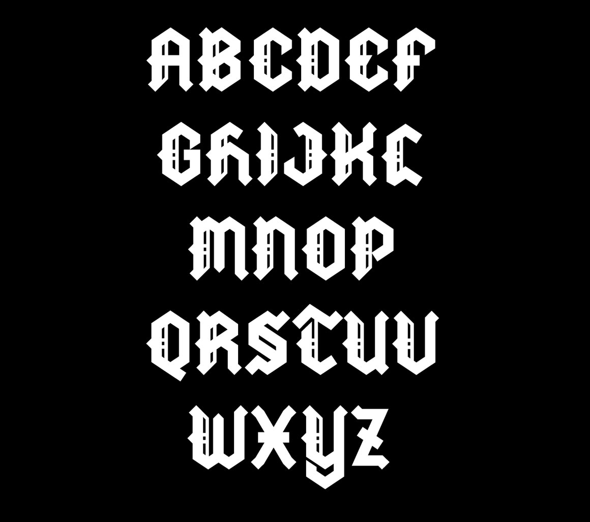 Metal Blackletter Free Font Dealjumbo Discounted