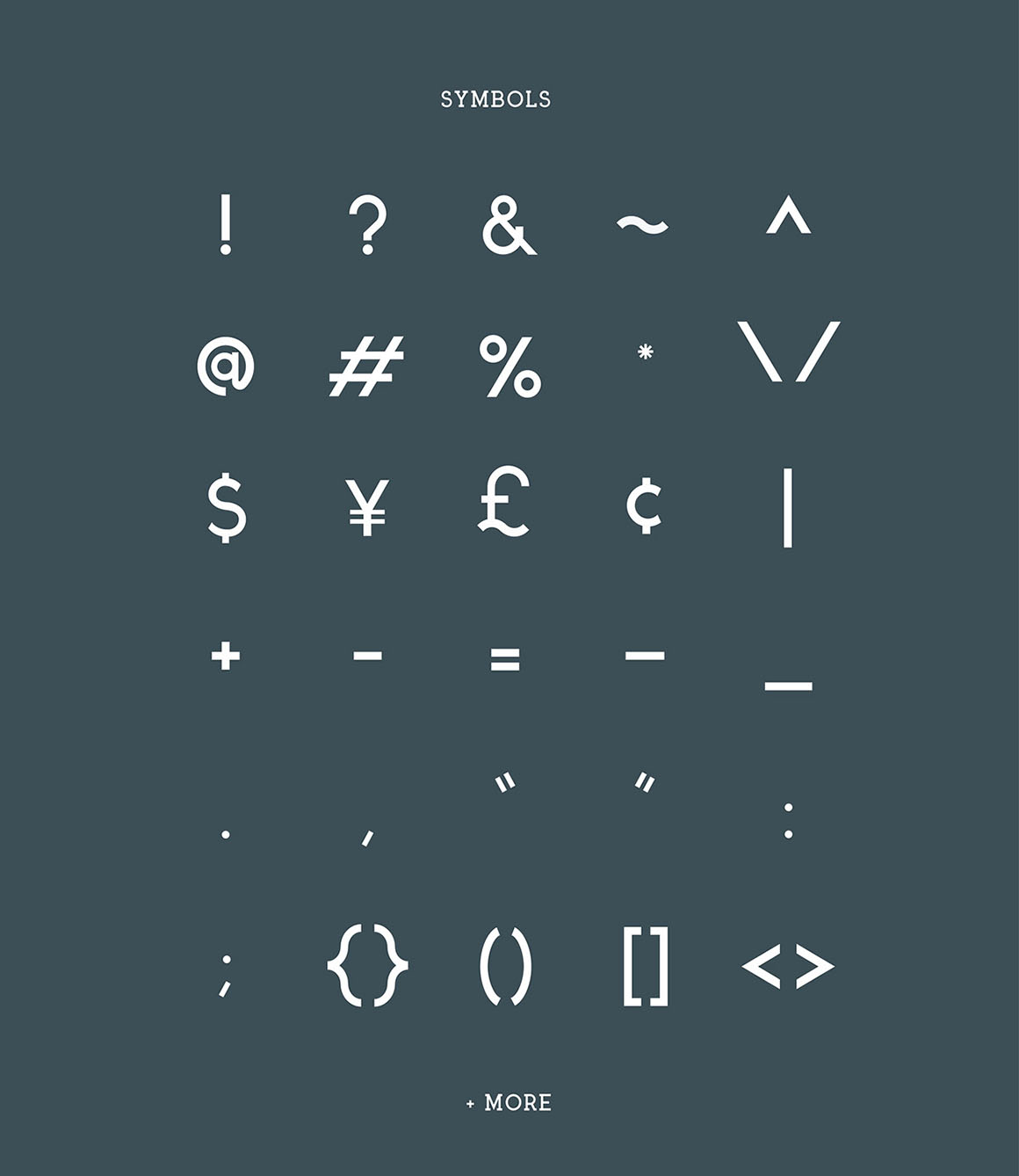 Arctic font full page