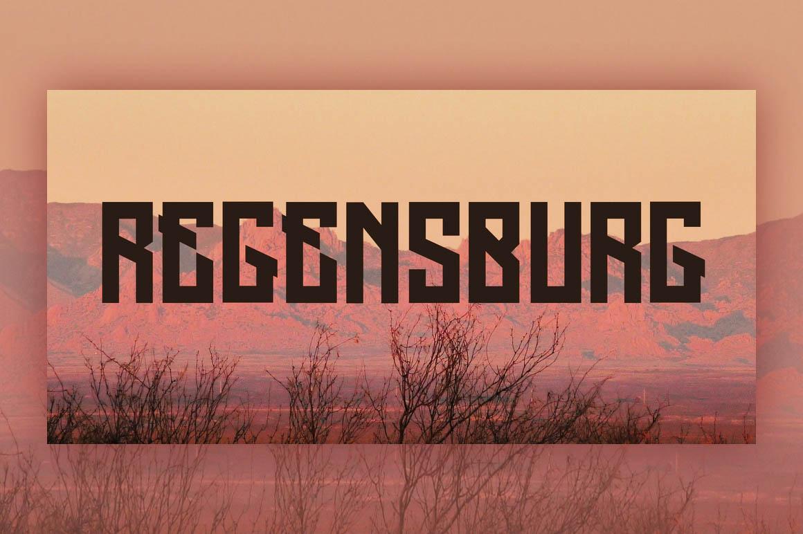 regensburg-free-font-1