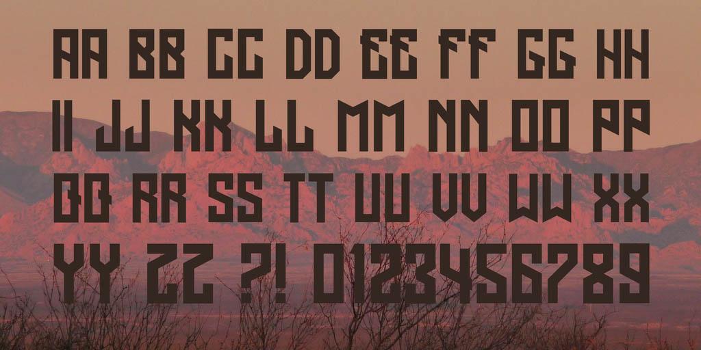 regensburg-free-font-2