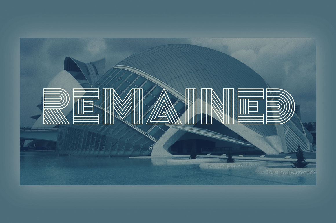 remained-free-font-1