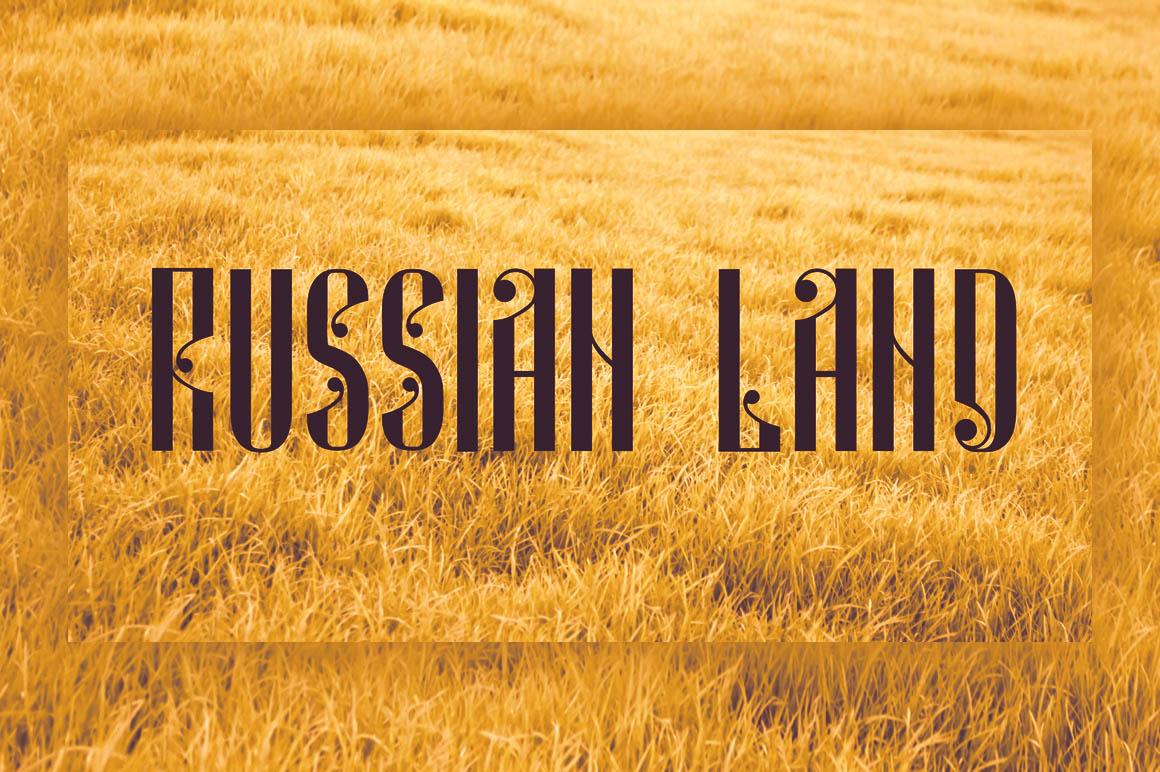 russian-land-free-font-1