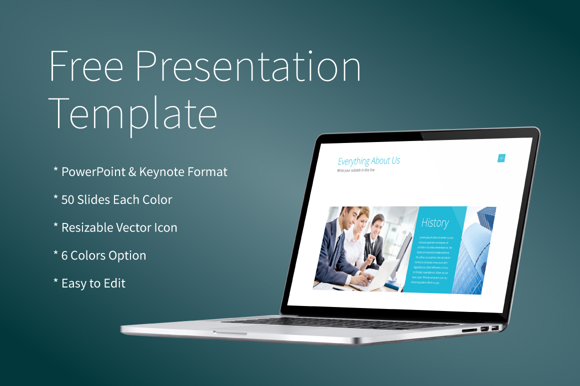 Powerpointkeynote presentation template dealjumbo freebie banner toneelgroepblik Image collections
