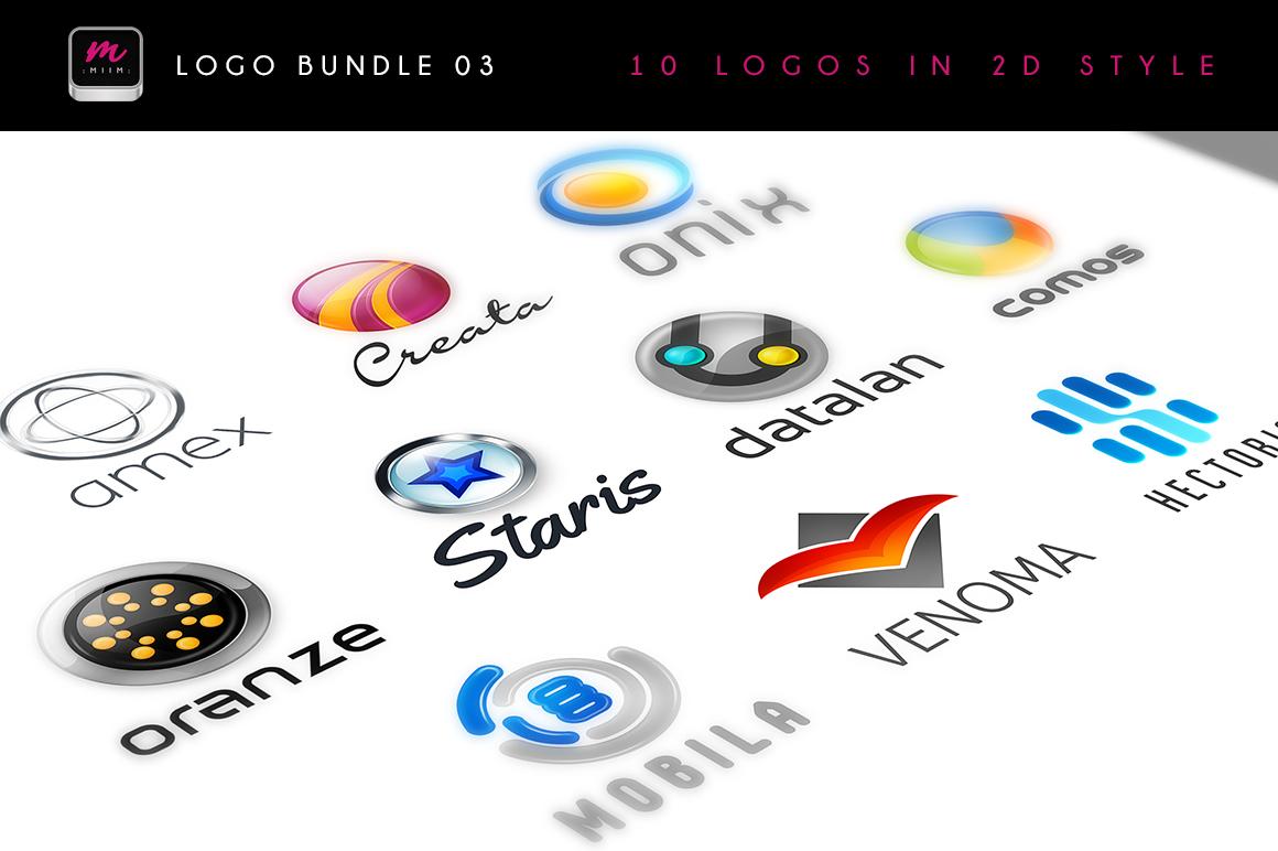 Logo Templates Mega Bundle - Dealjumbo com — Discounted design bundles with  extended license!