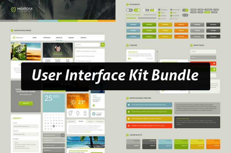 User Interface Kit Bundle
