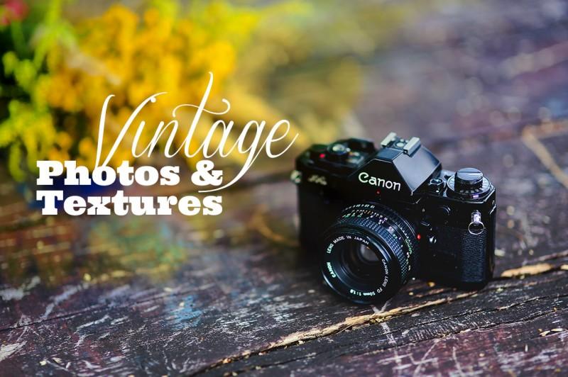Vintage Style Photos & Textures
