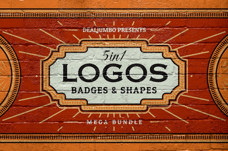 5in1 Mega Bundle 435 logos