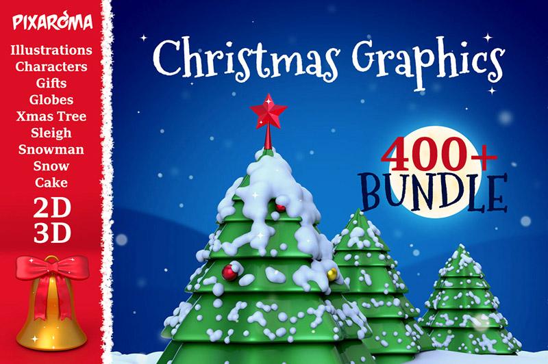 Christmas Graphics & Elements