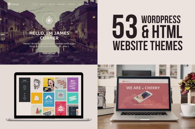 5in1 Mega Bundle v.9: Best Website Themes