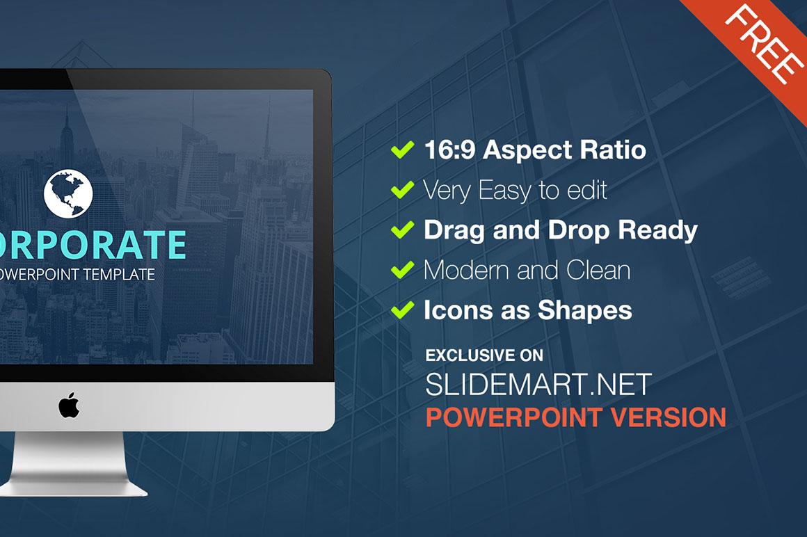 Corporate free powerpoint template dealjumbo discounted p1 powerpoint toneelgroepblik Gallery