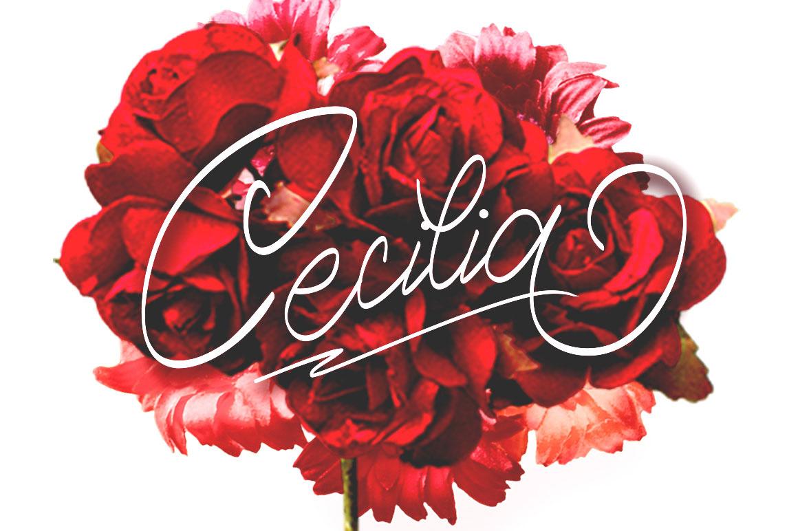 Cecilia - Free Script Font