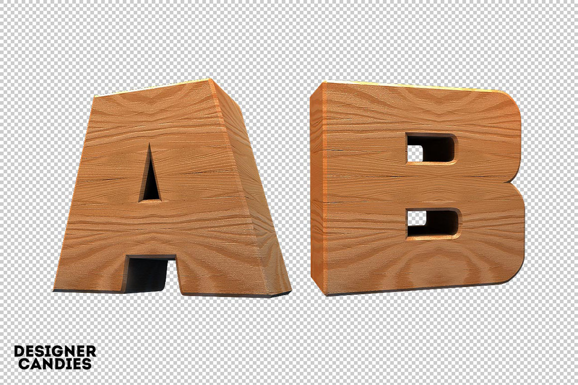 3d wooden lettering free pack for 3d wooden alphabet letters