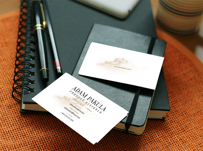 Download Free Business Cards Mockup Template