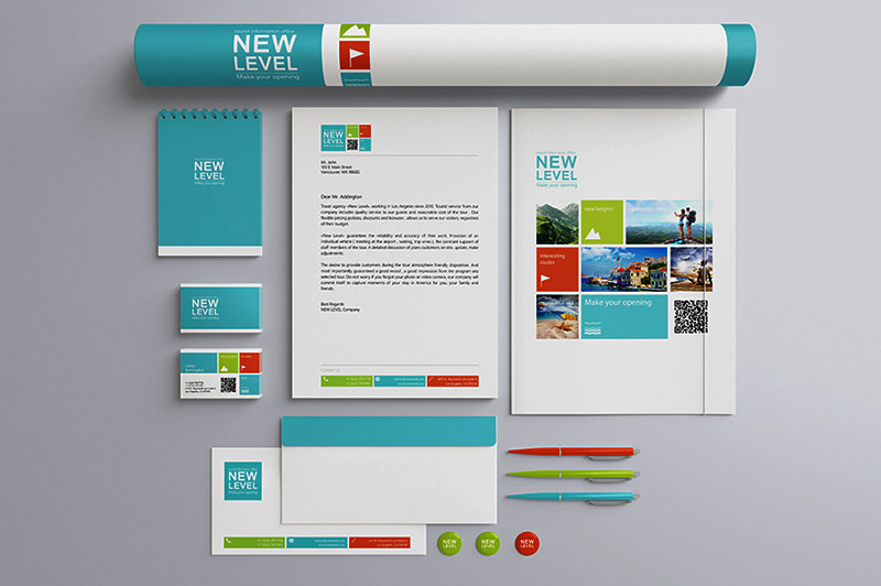 Stationery Presentation Mock-up Template - Dealjumbo.com