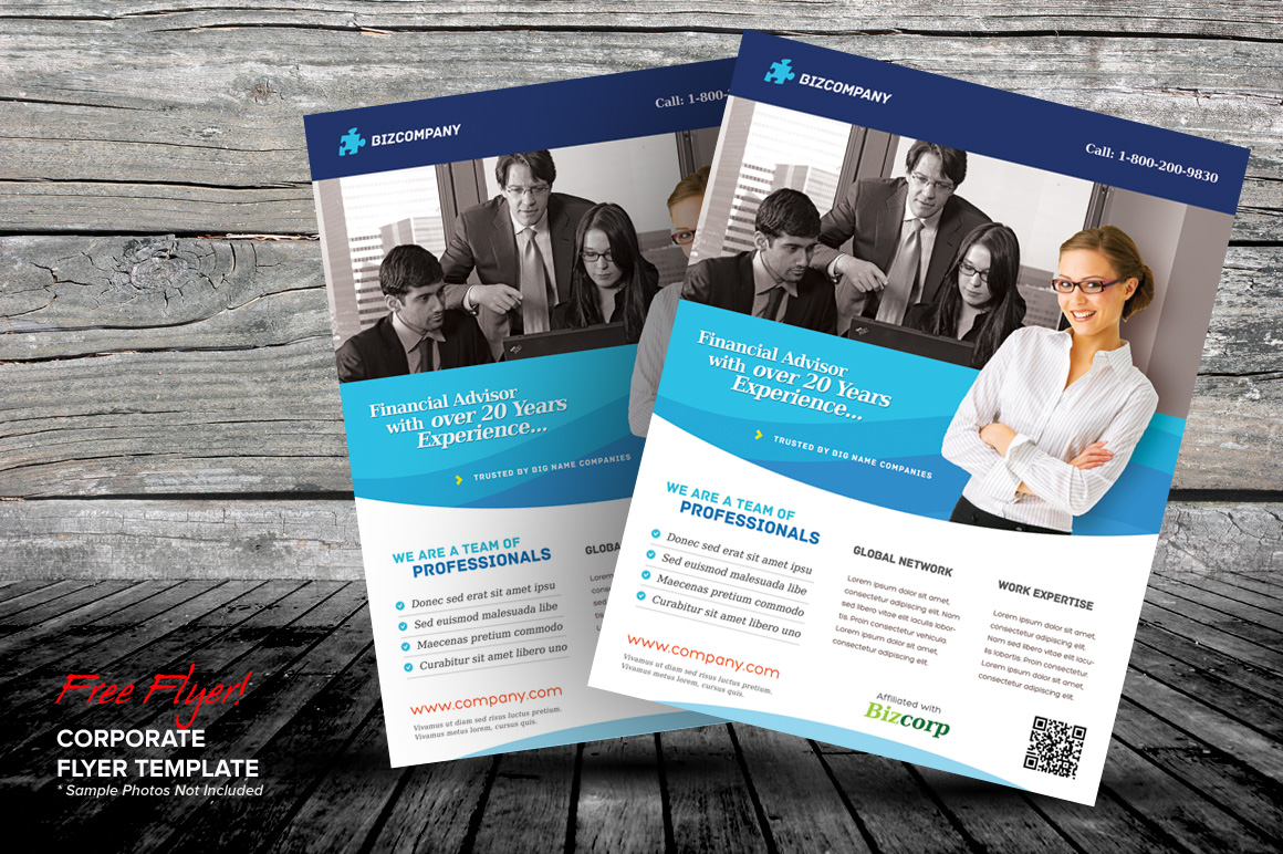 Free Corporate Flyer Template Dealjumbo Discounted Design