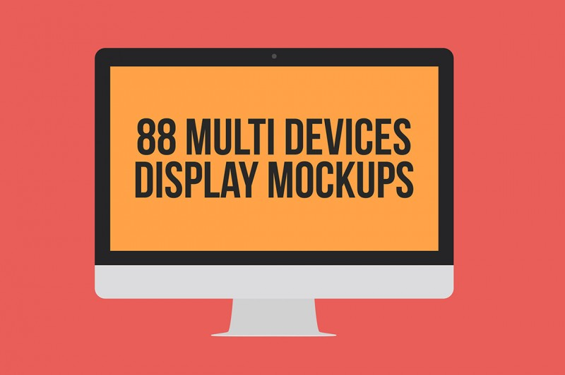 Multi Devices Display Mockups